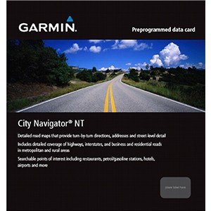 Garmin City Navigator West Africa