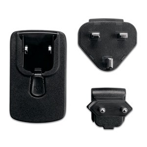 Garmin A/C adapter with EU and UK plugs