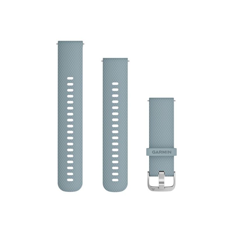 Garmin Quick release band, Seafoam-Silver One-size (vivomove HR, vivomove HR/vivoactive 3, FR 645/645M)