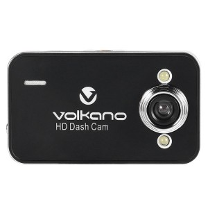 Volkano VS-000-BK Street Series HD 720P Dash Cam