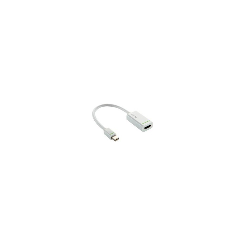 Leitz 63100001 Complete Mini DisplayPort to HDMI Adapter - White