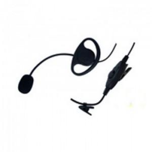 Zartek GE-274 Heavy Duty Boom Mic with PTT headset, D/cup earpiece for ZA-725, 710,708,705, ZA-758