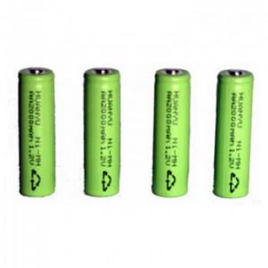 Zartek GE-235 - Battery pack, 4 x super 2100mAH NiMH (Nickel Metal Hydride)