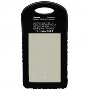 Zartek ZA-330 USB Powerbank with LED Worklight, 4000mAH, 2 x USB, 250 Lumen