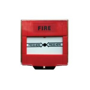 Unbranded FR03-1 Fire Red Call Point Resettable