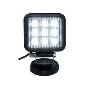 Zartek ZA-480 Vehicle LED Floodlight, 1600lm, Magnetic Mount, 12V Adaptor On/Off switch, 5m Coil Cable