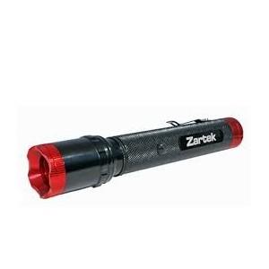 Zartek ZA-452 Flashlight,LED 220lm,Aluminium,Flood to Spot,Rechargeable, Mains/Vehicle Charger