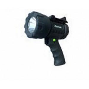 Zartek ZA-478 EX Mega Bright Spotlight,XHP50 LED,1200lm,Rechargeable,Mains&Vehicle Charger, Detach.RED Lense,Fully Rubber.