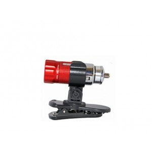 Zartek ZA-455  12v Rech.Mini LED torch,35lm,With Magnetic Clip,Avail in Black or Red