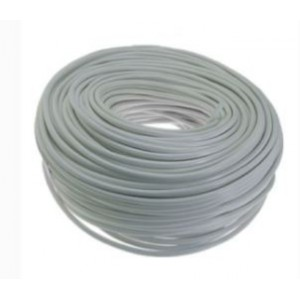 Unbranded CB07 Cabtyre 0.5mm 3 Core White / 100m