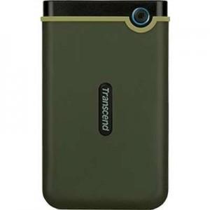 Transcend TS1TSJ25M3G 1TB Slim STOREJET M3 2.5'' USB3.1 HDD - Military Green