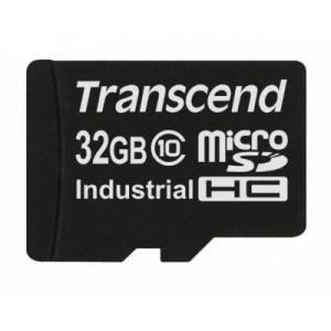 Transcend TS32GUSDC10I Industrial microSDHC Class10 Card