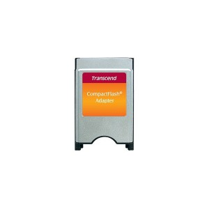 Transcend TS0MCF2PC PCMCIA Adapter for Compact Flash Card