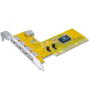 USB2.0 4+1 ports PCI card