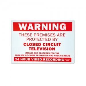 Unbranded CC759 CCTV Warning Sign