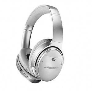 Bose QuietComfort 35 Wireless Headphones II with Noise Cancelling - Silver