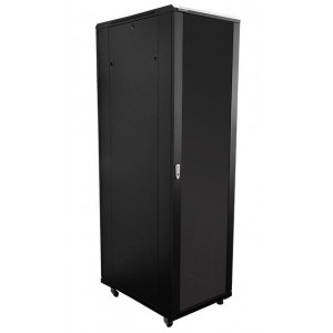 42U 1M Deep Cabinet 4 Fans & 3 Shelves