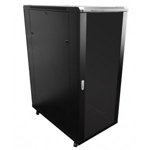 27U 1M Deep Cabinet 4 Fans & 2 Shelves