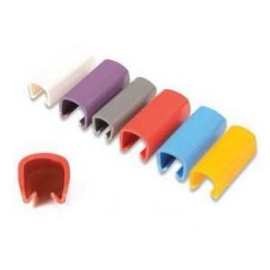 Siemon CLIP-06 Colour Coded Cable Clip - Blue (25 per bag)