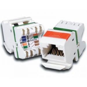 Siemon MX6-F02-DB MAX CAT6 UTP Outlet