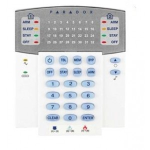 Regal-Paradox CP124-4 K32 32 Zone Hardwired LED Keypad