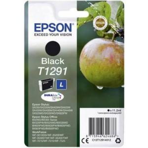 Epson ET12914012 T1291 Apple High Capacity Black Ink Cartridge