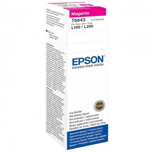 Epson ET66434A Magenta Ink Bottle 70ml