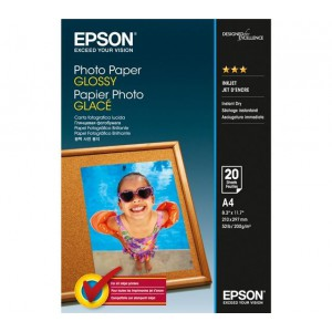 Epson ES042538 Glossy Photo Paper A4 20 Sheets 200gsm