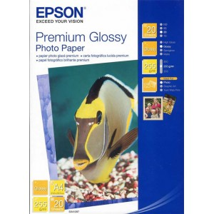 Epson ES041287 A4 Premium Glossy Photo Paper (20 Sheets)