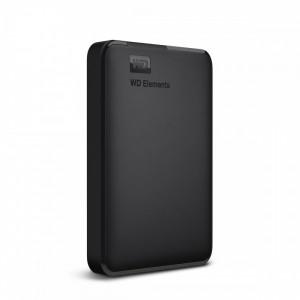 Western Digital WD ELEMENTS PORTABLE 1.0TB USB3.0 HDD - Black