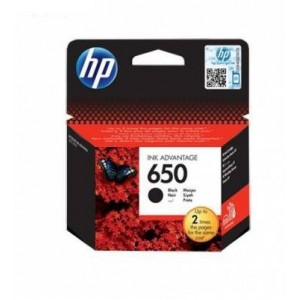 HP HCZ101AK 650 Black Ink Advantage Cartridge