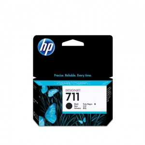 HP HCZ129A 711 38ml Black Ink Cartridge