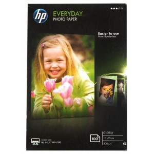 HP HCR757A Everyday Glossy Photo Paper - 10 X 15cm